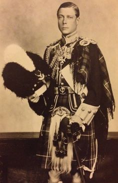 Colonel of the Seaforth Highlanders
