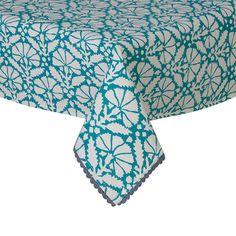 Aqua Tablecloths now in stock. #helloblueflamingo #tableclothaqua