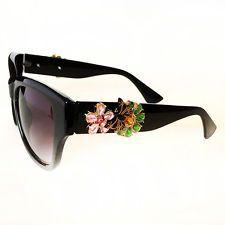 2015 Wayfarer NO BRAND NAME Sunglasses Women Brand Design Luxury Crys... Lot 127
