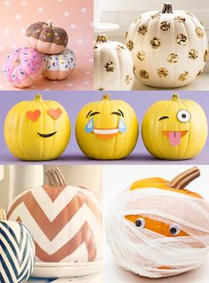 creative painted pumpkin ideas - Google Search