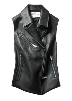 Part biker, part chic, the moto vest is the easiest way rev up your style  this season, by Two by Vince Camuto