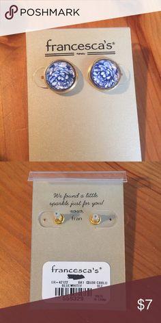 NEW post earrings Brand new earrings from Francesca's. Francesca's Collections Jewelry Earrings