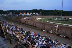Racing at Lernerville Speedway