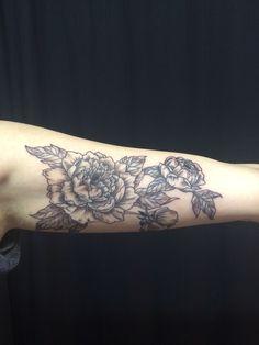 My new peony tattoo #peonytattoo #tattoo #floraltattoo