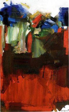 "cavetocanvas: "" Hans Hofmann, Nulli Secundus, 1964 From the Tate Gallery: "" 'Nulli Secundus', Latin for second to none, is a painting of Hofmann's late period. Joan Mitchell, Franz Kline, Willem De Kooning, Jackson Pollock, Modern Art, Contemporary Art, Jasper Johns, Hans Hofmann, Art Moderne"