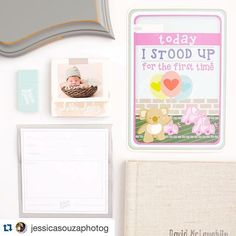 #Repost @jessicasouzaphotog with @repostapp. ・・・ Just a few of our favorite things! Custom @theorganicbloom framed prints, heirloom linen albums, brag books, JSP gift cards, @photoflashdrive USBs, and gifts for our expecting clients, @landmarkmoments cards! For more #behindthescenes follow @jessicasouzaphotog on Instagram.