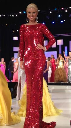 Miss South Carolina 2012 Walk On Evening Gown: HIT or MISS?