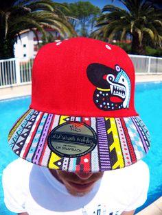 Underground Kulture Colour Paint Icon Snapback Baseball Cap