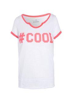 T-shirt tunisien imprimé hashtag cool