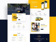 PickMe - Modern Taxi Cab Rental Service HTML Template by Pixel Signs