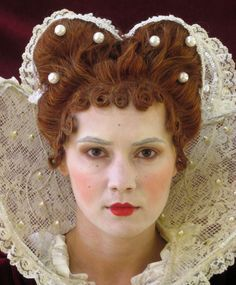 elizabethan hairstyles - Google Search
