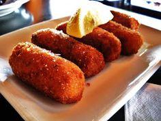 Receta de croquetas de pescado