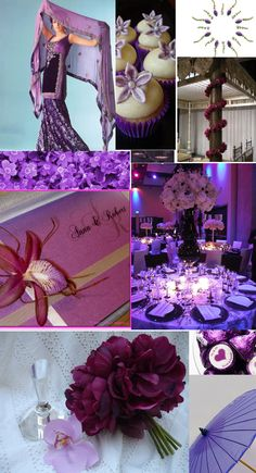 Purple, the ultimate color of royalty, translates easily into a Maharani-ish Indian wedding. It also works well when paired with contrasting colors, such as orange or coral, providing limitless options. Purple will definitely add an unexpected touch to your wedding splendor!