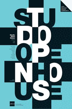 Studio Open House // Typographic Grid