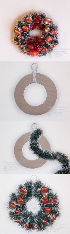In this DIY tutorial, we will show you how to make Christmas decorations for your home. The video consists of 23 Christmas craft ideas. Christmas Room, Christmas Projects, Christmas Wreaths, Christmas Ornaments, Pink Christmas Decorations, Christmas Tree Toppers, Holiday Decor, Homemade Xmas Gifts, New Year Diy