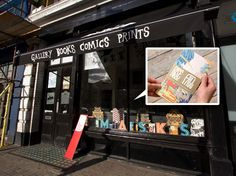 Nobrow - print and book store in East London
