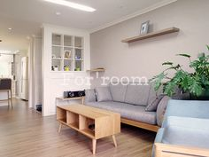 Apartment Home interior design, designed by Forroom. South Korea.