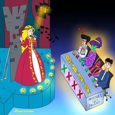 Zoulvisia #zoulvisia #fairytale #comic #webcomic #parody #art #artwork #illustration