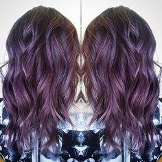 """158 Likes, 3 Comments - Beauty Brands Official (@beauty.brands) on Instagram: """"We're head over heels for this beautiful violet-red created by Kansas City Senior Stylist…"""""""