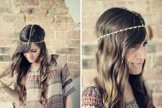 Dress up your 'do with this chic DIY headband.