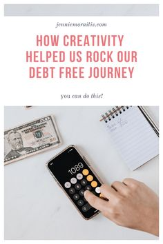 How Creativity Helped Us Rock Our Debt Free Journey. Our jump to being debt free was a LONG road, but with persistence and a lot of creativity, we did it! Homemade Journal, We Rock, Financial Peace, Get Out Of Debt, Debt Free, Happy Life, Are You Happy, Thursday, Budgeting