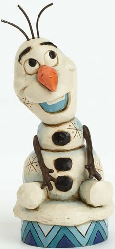 This Disney Frozen figurine depicts Olaf the Silly Snowman. Making his debut to Disney Tradtions, Olaf from Disney's FROZEN is sure to melt your heart. Designed by Jim Shore. Disney Frozen Olaf, Frozen Movie, Walt Disney, Disney Magic, Disney Art, Cinderella Disney, Disney Pics, Disney Princesses, Disney Collectibles