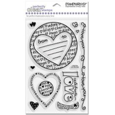 Love   Stampendous Perfectly Clear Stamps: Arts, Crafts & Sewing
