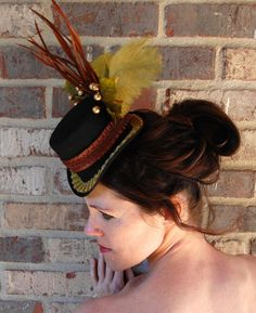 51 Best Top Hat Fascinator Ideas Images Sombreros Fascinators