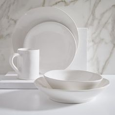 Mervyn Gers Dinnerware (Set of - Glossy White