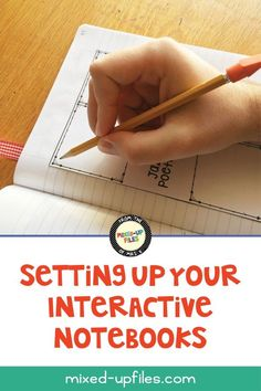 Setting Up Your Interactive Notebook | Mixed-Up Files - Tips and ideas to consider when setting up interactive notebooks for your middle school classroom #interactivenotebooks #middleschool #backtoschool  #howto #inb