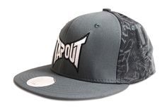 New!  Tapout Smoke FlexFit Hat Grey  Reg. Price $28.00  Sale Price: $22.40   #forsale #tapout #hats #snapback #freeshipping #free #urban #cluburban