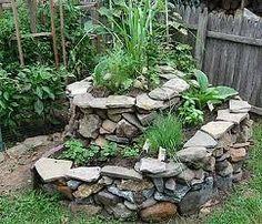 Herb Spiral for back garden