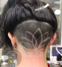 Instagram Is Going Crazy For Hidden Hair Tattoos