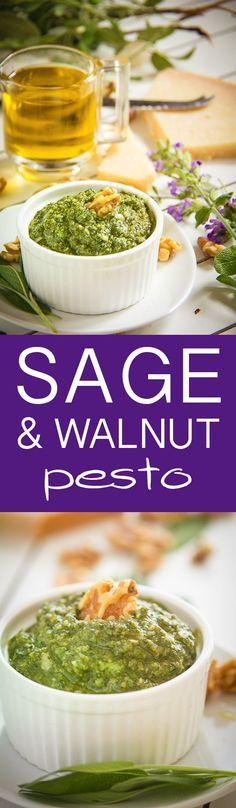 Sage & Walnut Pesto