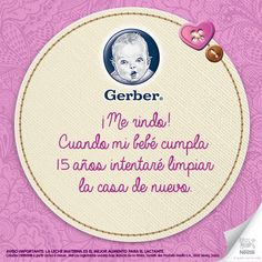 #quote #frase #mom #baby #bebe #gerber