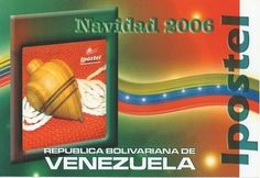 Postal: Trompo (Venezuela) (Ipostel - Christmas 2006) Col:ve_ipostel_NAV2006_04