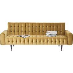 Sofa Milchbar Velvet Honey 3-Seater - KARE Design