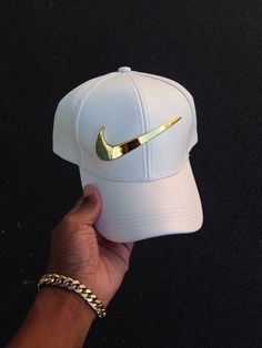 a6fdb2f266883 Golden Check Vegan Leather Strapback Cap (3 Colors). SkyLife Boutique