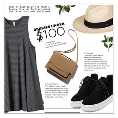 Dresses Under $100 by ladydzsen on Polyvore featuring polyvore fashion style RVCA WithChic Roxy clothing under100