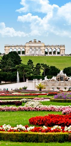 Gloriette in the Schonbrunn garden, Vienna. Austria | 30+ Truly Charming Places To See in Austria