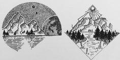 mountain tattoo | Tumblr