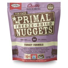 Primal Pet Foods Freeze-Dried Feline Turkey Formula *** You can find out more details at the link of the image.