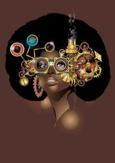 steamfunk fb.com/eosvector #africansinmotion #afrofuturism