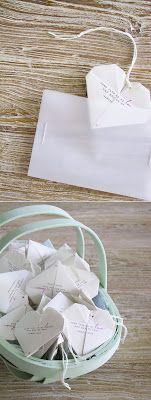 Love DIY Wedding Blog: Love DIY - Origami esküvői dekoráció