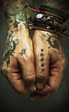 pirate hands | tattoo | ink | leather | www.republicofyou.com.au