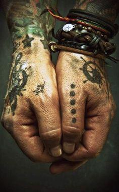 pirate hands | tattoo | ink | leather | www.republicofyou.com.au