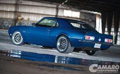 I love this 1st generation Camaro.