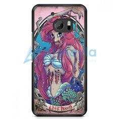 The Zombie Mermaid Princess HTC One M10 Case | armeyla.com