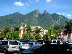 Monterrey Mexico Saddle Mountain. I've climbed this one when I lived there for a few months!