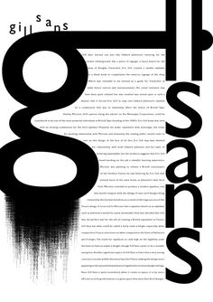 Gill Sans by lazyScribbler